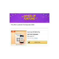 Amazon : Spin The Wheel Of Fortune & Win Prize (Many Users getting 30 cashback on Scan & pay)