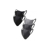 Gear OXYMAX G95 Adult Unisex Reusable & Washable 6 Layer NABL Certified Outdoor Protection Face Mask (Pack of 5)  [Apply coupon]