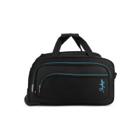 SKYBAGS SCOT PLUS DFT (E) 54 BLACK Duffel Strolley Bag(Black)
