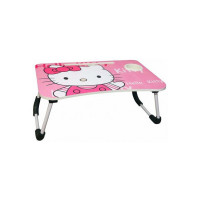 Royatto Wood Portable Laptop Table  (Finish Color - Pink)