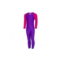 Speedo 804886C875 Colour Block All in One Suit, 04Y