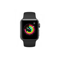 AppleUnisex Black Series 3 GPS Smart Watch MTF02HN