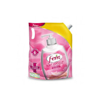 Fem Soft Handz Handwash Sensitive : Kills 99.9% Germs   Enriched with the goodness of Glycerine and Vanilla  1200+ washes liquid soap refill pack - 1500ml