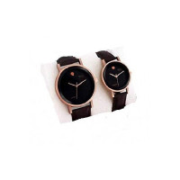 YOUTH CLUB Analogue Men's & Women's Watch (Brown Dial Brown Colored Strap) (Pack of 2)