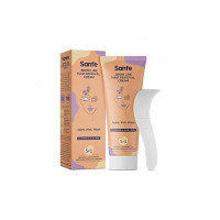 Sanfe Bikini Line hair removal cream for women for Sensitive Skin - 50gm with Lavender and Aloe vera extracts | Smell and Pain Free Instant Removal at home | Waxing Alternative for Bikini , Underarms, Stomach, Hand and Legs Area | No harsh chemicals | Removes Stubbles |Brightens & Nourishes
