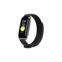 """OPPO Smart Band with Extra Sport Strap - Continuous Blood Oxygen Saturation Monitoring(spO2, Up to 12 Days Battery Life, 1.1"""" AMOLED Display, 5ATM Water Resistant,Supports Android and iOS(Black [Apply ₹500coupon]"""