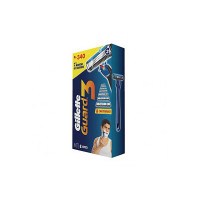 Gillette Guard 3 – Single Razor with 8 Blades Pack, 8 Count (Pack of 1)