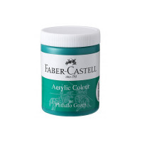 Faber-Castell Acrylic 140ml Jar - Phthalo Green 161