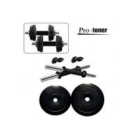 Protoner PVC Adjustable Dumbbell Set